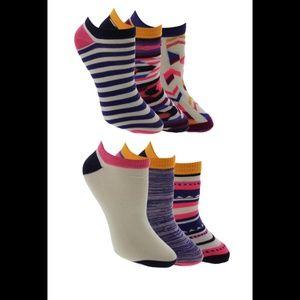 ‼️2/$21‼️ NWT Ladies 6PK No Show Ankle Socks